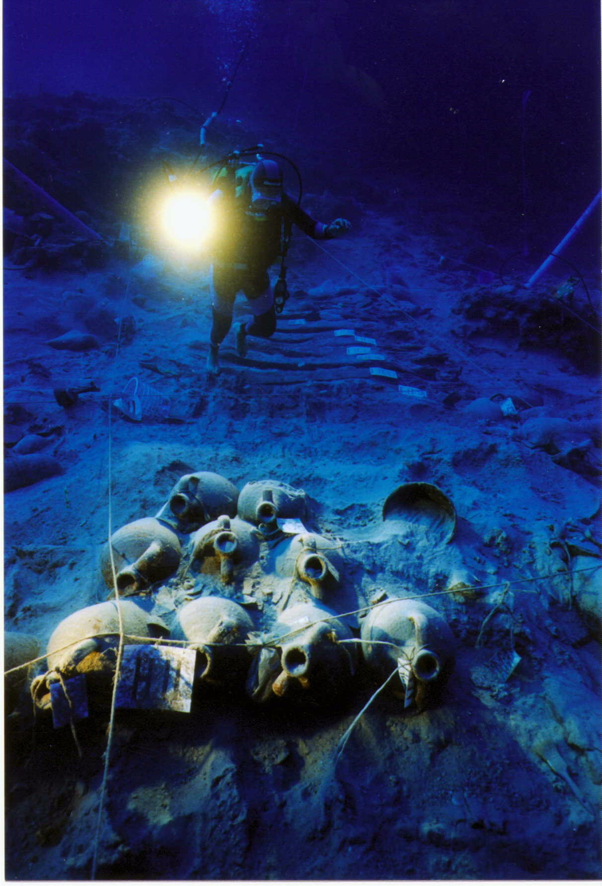 Protecting Underwater Archeological Sites