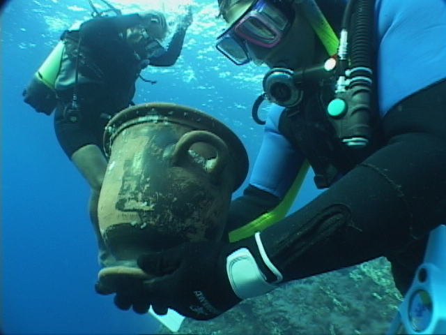 Underwater archaeological sites