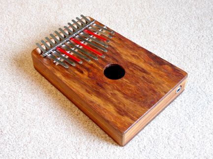 The Sound of the African Thumb Piano (kalimba)