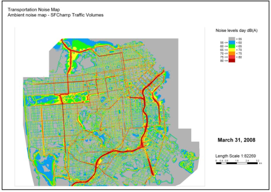 Challenges and Opportunities for Noise Mapping in the
