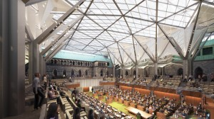 Figure 6 - House of Commons Glass Dome rendering