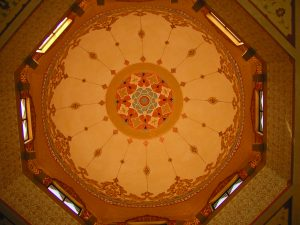 ceiling dome artwork