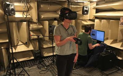 5pSP6 – Assessing the Accuracy of Head Related Transfer Functions in a Virtual Reality Environment – Eoin A King,  Joseph Esce