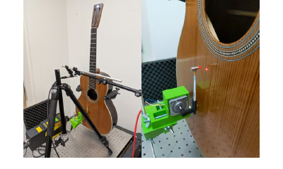 1aMU2 – Measurements and Analysis of Acoustic Guitars During Various Stages of Their Construction – Mark Rau